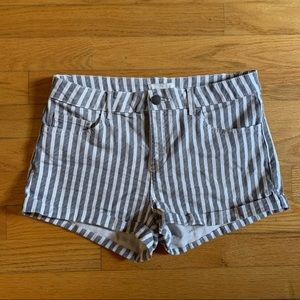 H&M Striped Shorts